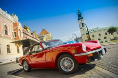 Classic sport car Royalty Free Stock Photo