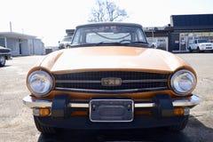 Triumph sportbil TR6 Fotografering för Bildbyråer