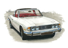 Free Triumph Stag MkI Stock Image - 43240971
