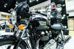 Triumph Thruxton 900 motorcycle Stock Images