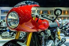 Triumph Thruxton R motorcycle Stock Photos