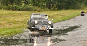 Triumph TR 3 - karambol obrazy stock
