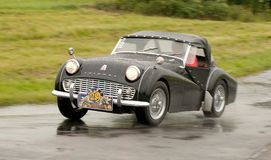 Triumph TR 3   - speed test Royalty Free Stock Images