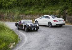 TRIUMPH TR2 Sports 1954 Royalty Free Stock Photos