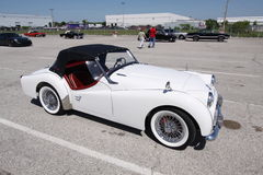 Triumph TR3A 1960. Triumph TR3A sport convertible coupe 1960 royalty free stock images