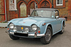 Triumph TR4 classic car Stock Photography