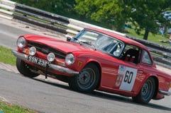Triumph TR6 Lizenzfreie Stockfotos