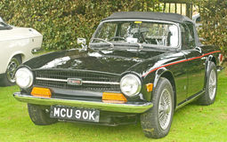 Free Triumph TR6 Sports Car At Fortrose.. Stock Image - 15865341