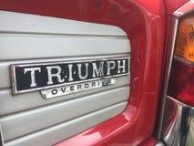 Triumph Vitesse Overdrive vintage car stock images