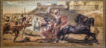 Triumph von Achilleus Stockfoto