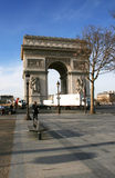 Triumphal arc. In France,spring Stock Image