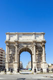 Triumphal arc Porte  also known as Porte Royale in Marseille Stock Image