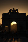 Triumphal arch. Royalty Free Stock Photos