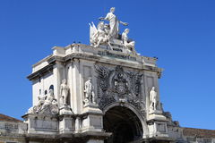 The triumphal arch Royalty Free Stock Images