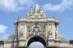 The triumphal arch Stock Images