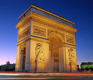 The Triumphal Arch. Stock Photo