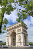 Triumphal Arch. Royalty Free Stock Photo
