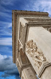 The Triumphal Arch. Royalty Free Stock Image