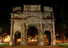 Triumphal Arch royalty free stock photos