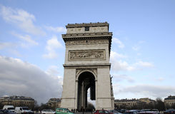 Triumphal arch Stock Image