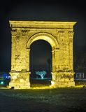 Triumphal arch of Bera in Tarragona, Spain. Stock Photos
