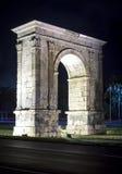 Triumphal arch of Bera in Tarragona, Spain. Triumphal arch of Bera in Tarragona, Catalonia, Spain Stock Photo