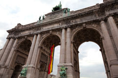 Triumphal Arch in Brussels Royalty Free Stock Photography