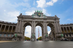 The Triumphal Arch in Brussels Royalty Free Stock Image