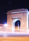 Triumphal Arch in Bucharest Royalty Free Stock Image