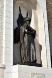 Triumphal arch called MAENGILIK EL in Astana / Kaz Royalty Free Stock Photos