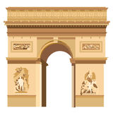 Triumphal Arch Royalty Free Stock Image