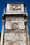 Triumphal Arch of Constantine. Dedicated in AD 315 to celebrate Constantine's victory three years before over his co-emperor, Maxentius Royalty Free Stock Photography