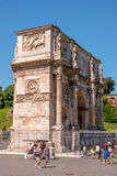 The triumphal arch of Constantine Royalty Free Stock Photography
