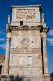 Triumphal Arch of Constantine in Rome, Italy. Triumphal Arch of Constantine in Rome Stock Photography