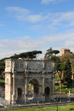 Triumphal Arch of Constantine Royalty Free Stock Photo