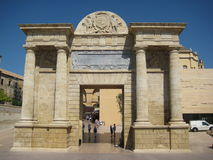 Triumphal arch in Cordoba Stock Photos