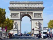 Free Triumphal Arch De L Etoile Royalty Free Stock Image - 83203196