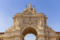 Triumphal arch detail Royalty Free Stock Images