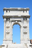 Triumphal arch of emperor Troyan in Ancona Royalty Free Stock Photo
