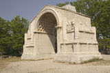 Triumphal arch in Glanum. Royalty Free Stock Image
