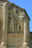 The triumphal arch of Glanum, detail Royalty Free Stock Images