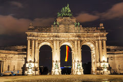 Free Triumphal Arch In Brussels Stock Images - 48363334