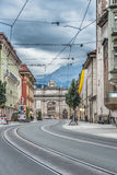 Triumphal Arch in Innsbruck, Austria. Stock Photography