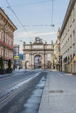 Triumphal Arch in Innsbruck, Austria. Stock Images