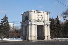 Triumphal arch, Kishinev Chisinau Moldova Royalty Free Stock Photos