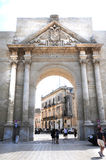 Triumphal Arch in Lecce Royalty Free Stock Images