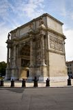 Triumphal arch in Marseille Stock Image