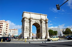 Triumphal Arch in Marseille Stock Images