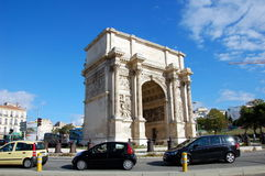 Triumphal Arch in Marseille Stock Photo