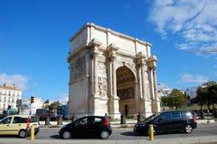 Triumphal Arch in Marseille Stock Photo